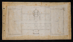 Main Building (Proposed), Second Floor Plan