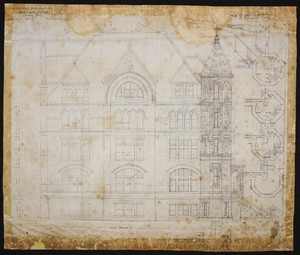 Main Building SEU (Proposed) - West Wing Addition, West Elevation - Nicholas  Clayton - 1895.jpg