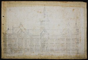 Main Building (Proposed), North Front Elevation